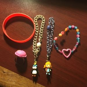 Other - CUTE BRACELETS AND RINGS BUNDLE
